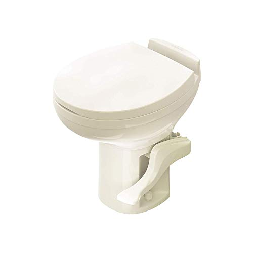 Aqua-Magic Residence RV Toilet / High Profile / Bone