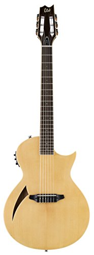 ESP LTD TL-6N Thinline Series Acoustic Electric Guitar, Natural