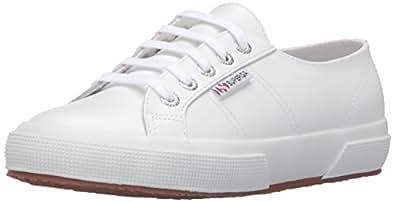 Superga Women's 2750 FGLU White Sneaker 35 (US Women's 5) Medium