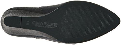 Charles Di Charles David Womens Ebano Slouch Boot Stone Grey