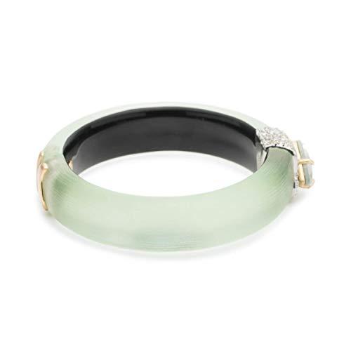 Alexis Bittar Women's Crystal Encrusted Roxbury Cluster Hinge Bracelet