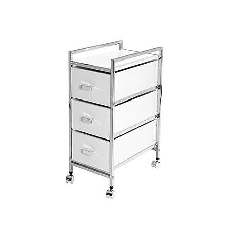 Duett M116940 - Mueble auxiliar baño 3 cajones y ruedas 1033mb: Amazon.es: Bricolaje y herramientas