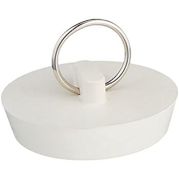 Danco 35980b 1 3 4 Inch Rubber Drain Stopper White 1 Per