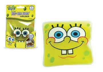 nickelodean-spongebob-squarepants-boo-boo-buddy-reuseable-hypo-allergenic-cold-pack