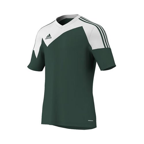 - Adidas Toque 13 Jersey Adult Large Short Sleeve Forest Green/white