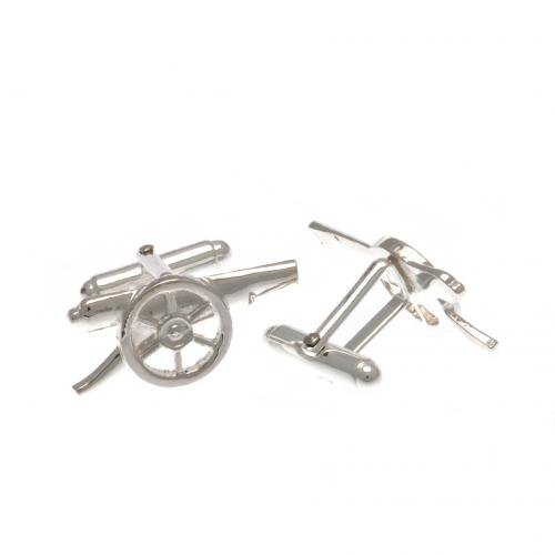 Arsenal F.C - Sterling Silver Cufflinks (GN)