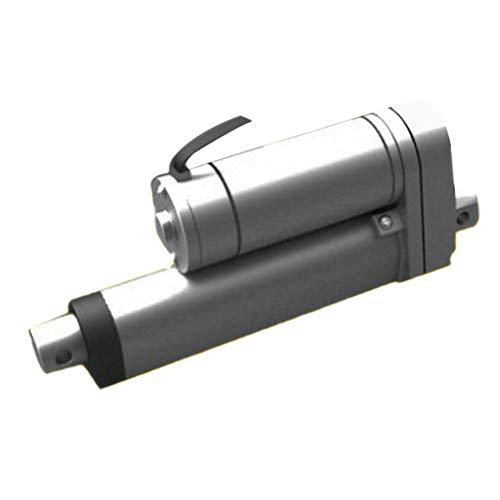 Baosity 100MM Stroke Linear Actuator 3000rpm DC 12V/24V/36V/48V Volt 900N + Encoder, Include Speed Measurement