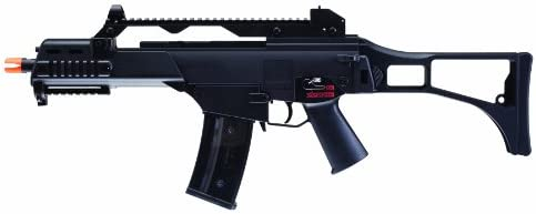 h k g36c aeg by kwa – blk Airsoft Gun