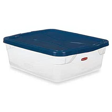 Amazing Rubbermaid Storage Container FG3Q2400CLCBL, 15 Quart