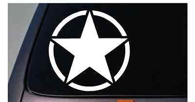 - Army Star Stickers (2X) Oscar Offroad Freedom Edition Vinyl Decal 6' C609