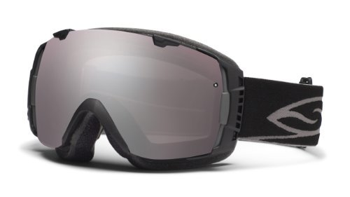 Smith Optics I/O Goggle (Black Frame, Ignitor Mirror Lens), Outdoor Stuffs