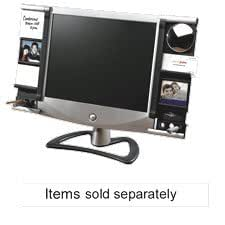 Amazon Com Aspect Right Side Monitor Frame Black Silver
