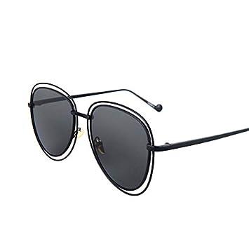 YUHANGH Damas Piloto Oval Gafas De Sol Mujeres Vintage Gafas ...