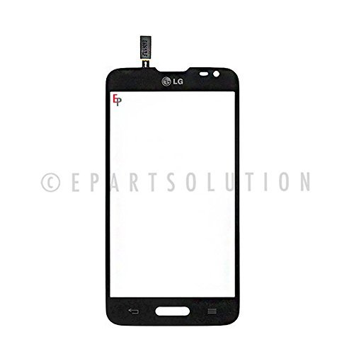 ePartSolution-LG Optimus L70 MS323 D321 D325 Digitizer Touch Screen Lens Glass Black Color Replacement Part USA Seller
