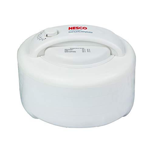 (NESCO FD-60, Snackmaster Express Food Dehydrator, White, 500 watts)