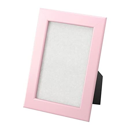 Ikea FISKBO Photo Frame (10 x 15 cm, Pink): Amazon.co.uk: Kitchen & Home