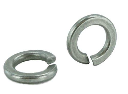 Stainless Split Lock Washer - Stainless #10 Split Lock Washer, Stainless Steel 18-8(100 pcs, 10 Lock Washer)