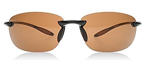 Serengeti Nuvino Polar Sunglasses,Shiny Brown with Drivers Lenses by Serengeti