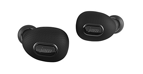 JAM Ultra Truly Wireless Bluetooth Earbuds with USB Charging Case, No Wires, USB Port Charges Your Device, Compact Design, Charges Earbuds Up to 10 times, HX-EP900BK