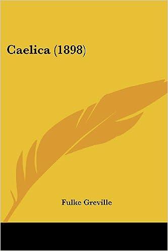 Ilmainen iBooks ipad-latausta varten Caelica (1898) PDF