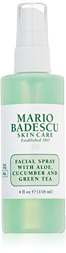 Mario Badescu Skin Care Facial Spray with Aloe,Cucumber And  Green Tea, 4 Fl Oz