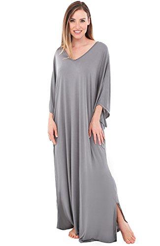 Alexander Del Rossa Womens Modal Knit Nightgown