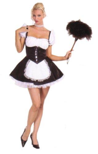 Chambermaid Adult Costume Size 10-12 Medium - Chambermaid Adult Costume