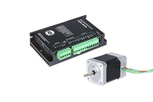 ACT Motor 1PC Nema 17 Brushless DC Motor 0.125N.m L63mm+1PC Driver BLDC-8015A 50V for CNC DIY [並行輸入品] B07NBSJ42X