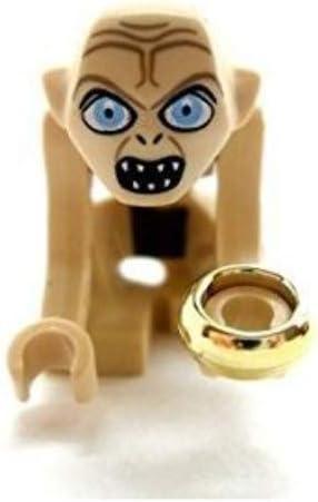 LEGO Herr der Ringe / Hobbit Minifigur : Gollum mit Ring und Fisch (aus dem Set 9470) NEU