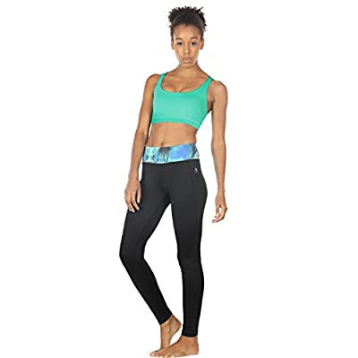 icyzone Sports Bras for Women - Activewear Strappy Padded Workout Yoga Tops Bra at Women's Clothing store