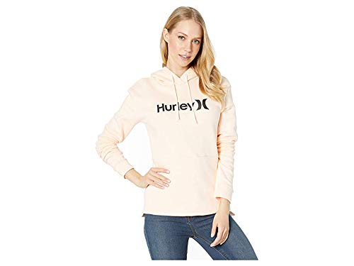 Hurley Women's One and Only Pullover Crimson Tint Medium