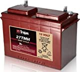 Replacement For 27TMH 12 VOLT DEEP-CYCLE FLOODED BATTERY - WITH T2 TECHNOLOGY 27 115AH Battery