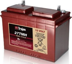 Replacement For 27TMH 12 VOLT DEEP-CYCLE FLOODED BATTERY - WITH T2 TECHNOLOGY 27 115AH Battery by Technical Precision