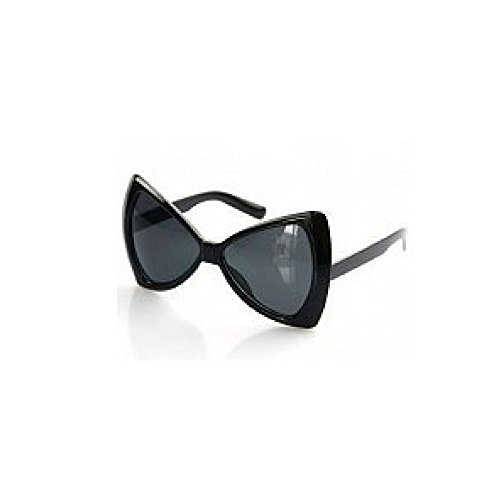 Bow Tie Sunglasses - Black (Lady Gaga - Aldo Sunglasses