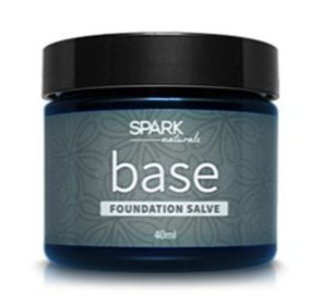 2oz Organic Quality Base Salve, Natural product by Spark Naturals. Made with Organic Beeswax, Organic Coconut Oil, Virgin Olive Oil & Vitamin (Beeswax Base)