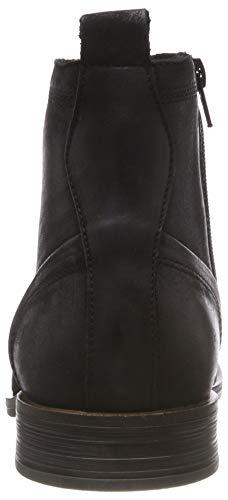 Laced Boot Uomo Up Nero 100 Black Stivali BIANCO FaSdwxqF