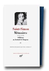 Mémoires, tome 4 : 1711 1714 par  Saint-Simon