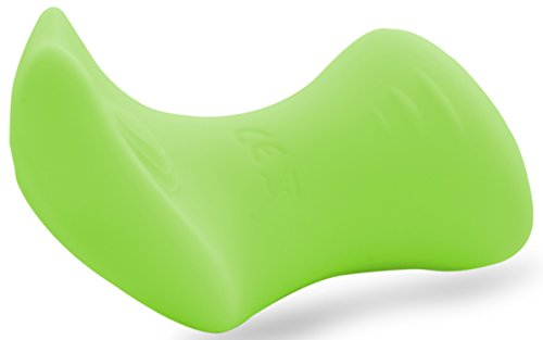 Lickerlish 10-Mode USB Rechargeable Neon Green Silicone Clitoral Vibrator