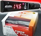 Brand New Apexi Turbo timer with Red LED Back Light Auto Timer for NA & Turbo (Made in Japan)