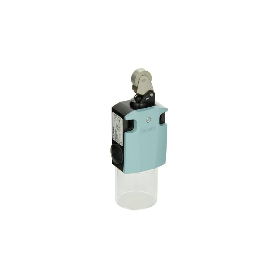 Siemens 3SE5 122 0CE02 International Limit Switch Complete Unit, Roller Lever, 56mm Metal Enclosure, Metal Lever, 22mm High Grade Steel Roller, Snap Action Contacts, 1 NO + 1 NC Contacts
