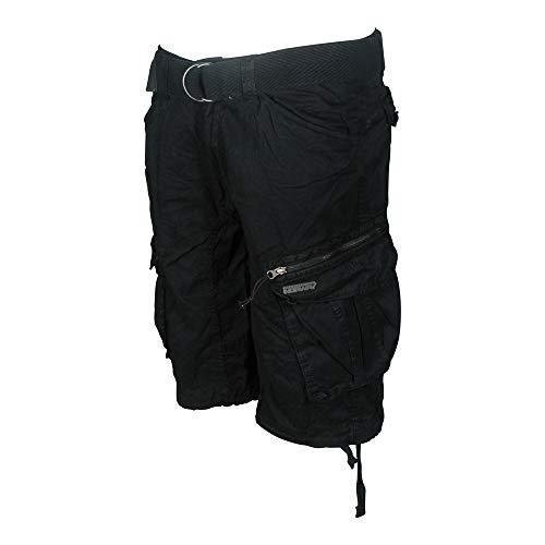 Shorts Norway Black Men Negro Cargo Basic Geographical Pant Palium s Herren Otwxwqd