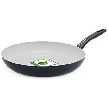 "GreenLife Everyday Value 12"" Ceramic Non-Stick Open Frypan, Black"