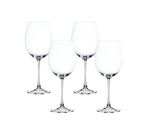 Spiegelau & Nachtmann, 4-teiliges Bordeaux-Pokal Set, Kristallglas, 763 ml, Vivendi, 0085694-0