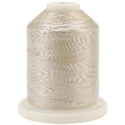 - American & Efird Signature 60 Cotton 3-Ply 1100 Yard Mini King Spool-Antique White