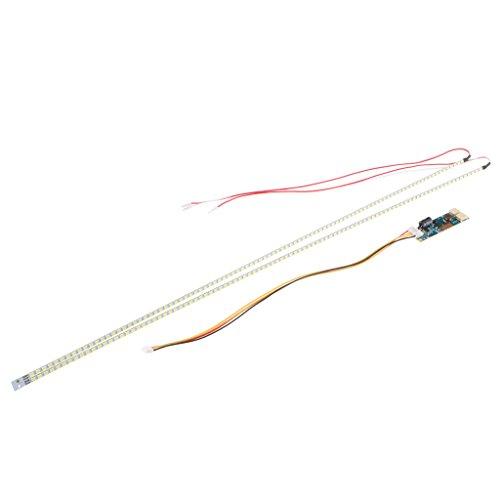 "Price comparison product image Homyl 2pcs LCD Monitor LED Backlight Kit Adjustable Brightness for 24"" TV Repair"