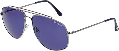 Blue Shiny 14v FT0496 Georges Ruthenium Light Tom Ford C59 nqxP8wFwX1