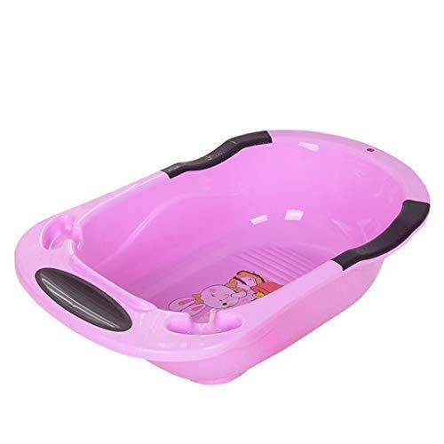 Espesar Pet Basin de baño Perro Gato Suministros de baño Longitud de bañera Grande 84 * Ancho 49 * Alto 23cm (Color :...