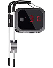 Inkbird BBQ Thermometer Bluetooth IBT-2X with 2 Probes APP Monitor