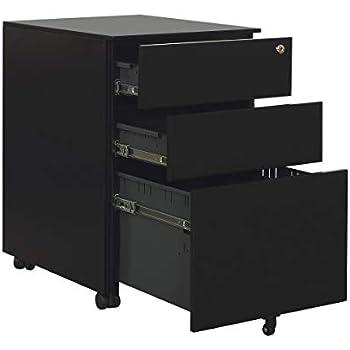 Amazon Com Calico Designs File Cabinet In Black 51100