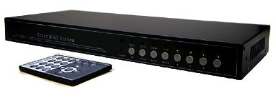 4-Channel Picture-In-Picture Video Processor - 1U Rack Mount Ready by AllAboutAdapters